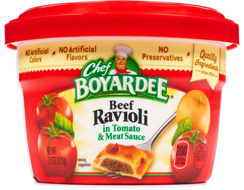 Chef Boyardee Beef Ravioli Nutrition