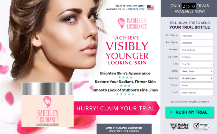 Isabellas Luxuriance Cream